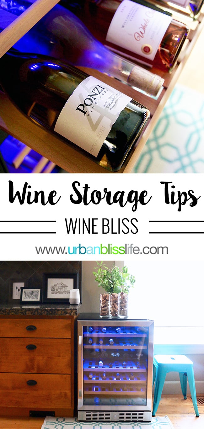 tips for proper wine storage