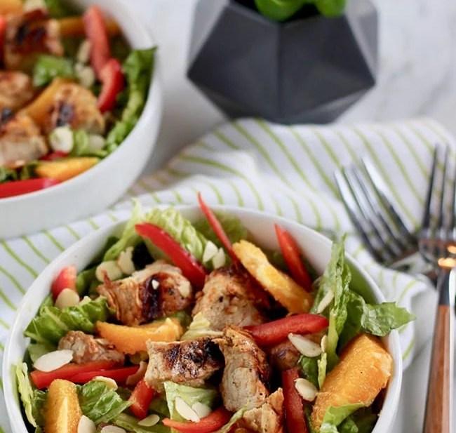 Orange Chicken Salad