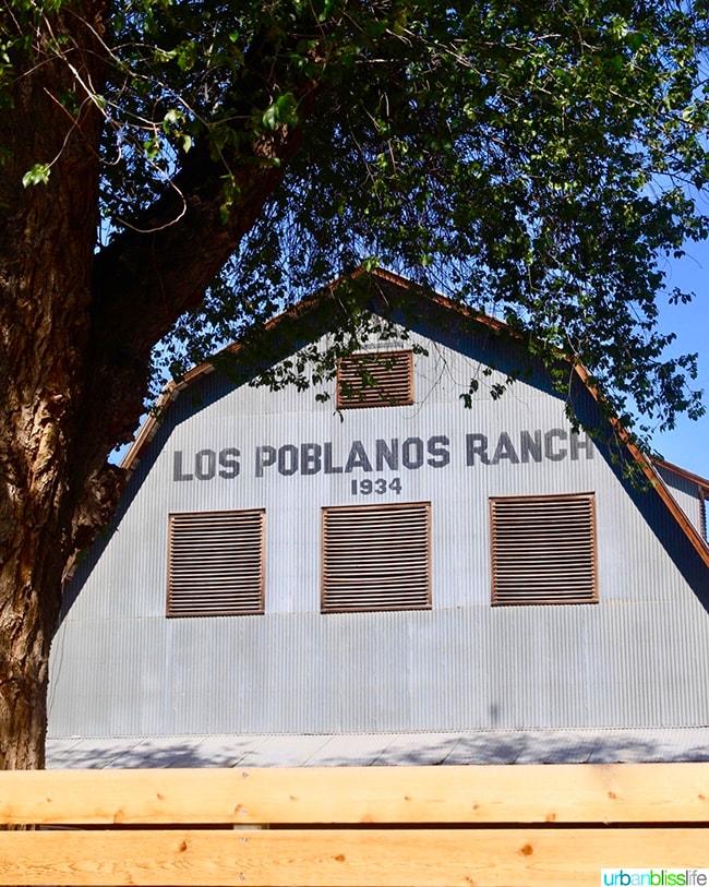 barn Los Poblanos Inn Albuquerque New Mexico