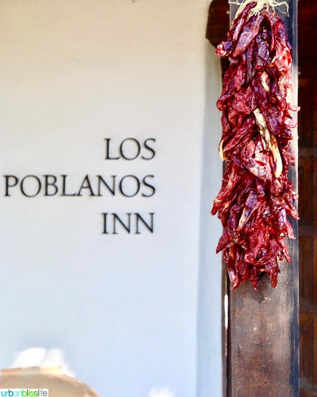 chiles Los Poblanos Inn Albuquerque New Mexico