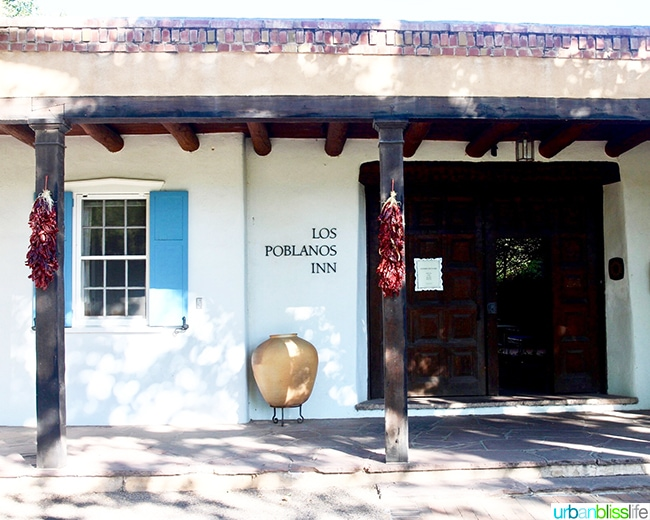 old Los Poblanos Inn Albuquerque New Mexico