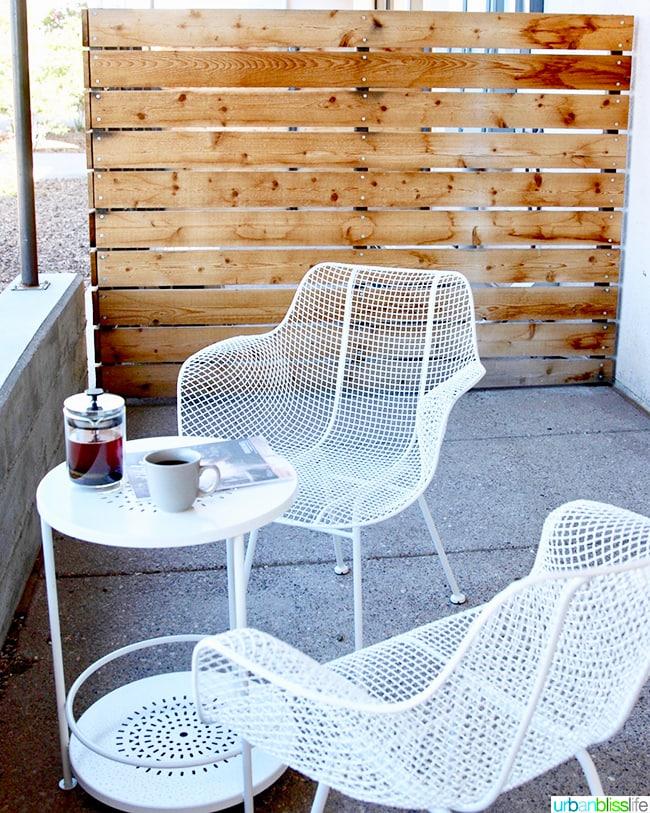 terrace Los Poblanos Inn Albuquerque New Mexico