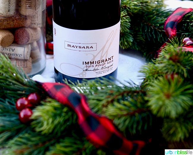 Maysara Immigrant Pinot Noir