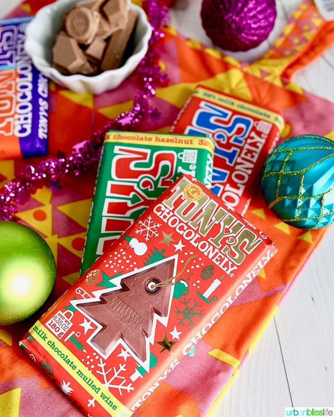 Tony's Chocolonely chocolates