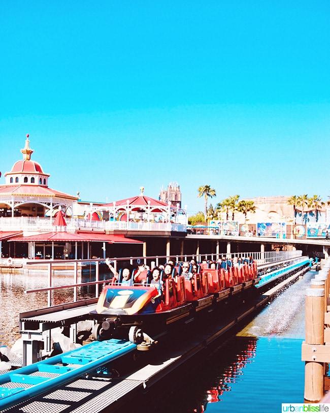 Pixar Pier Incredicoaster