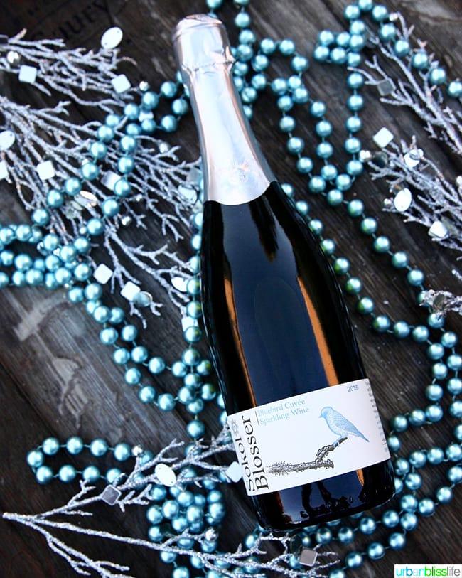 Sokol Blosser Bluebird Cuvee Sparkling Wine