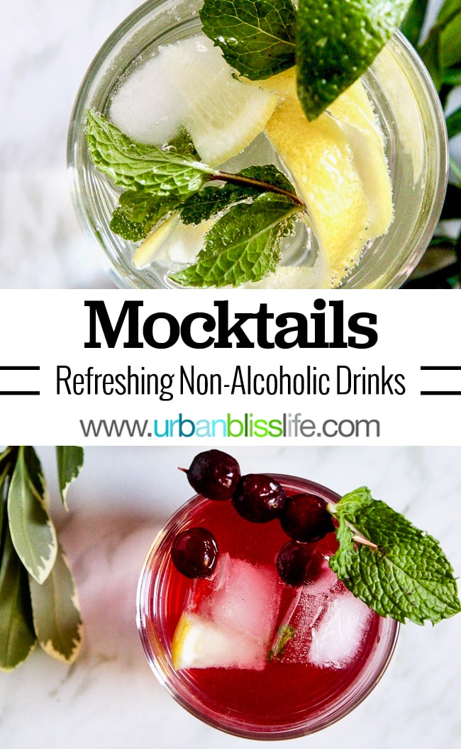Mingle Mocktails - mocktail recipes on UrbanBlissLife.com