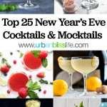 Top 25 NYE Cocktails Mocktails