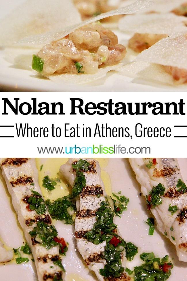 Nolan restaurant Athens, Greece