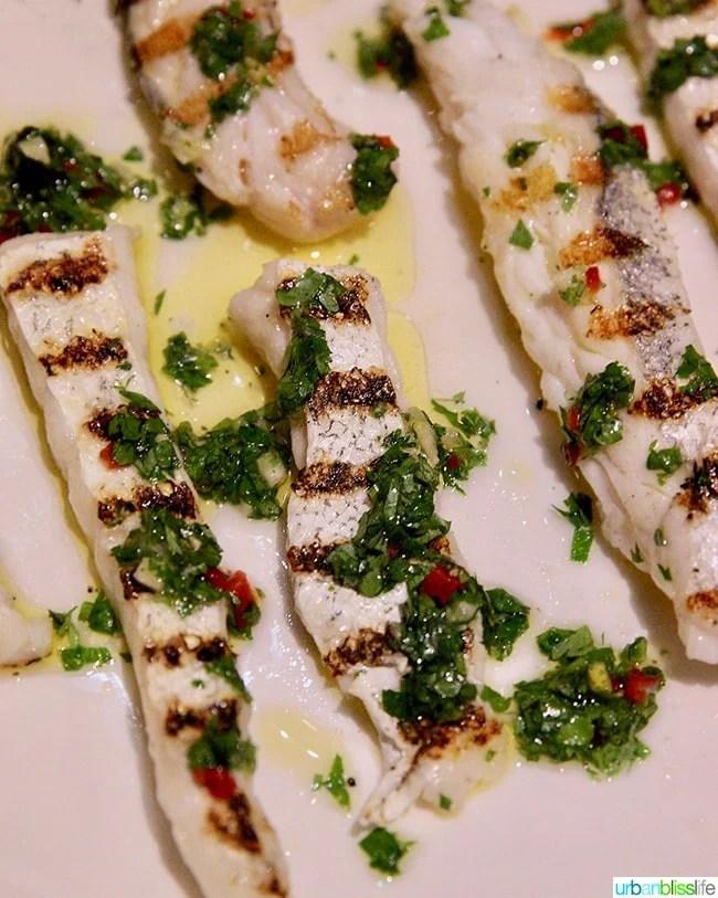 cod babies at Nolan restaurant Athens, Greece