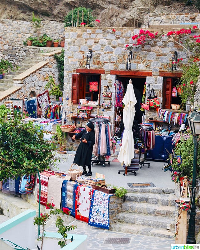 Traditional Olympos Village Karpathos Greece