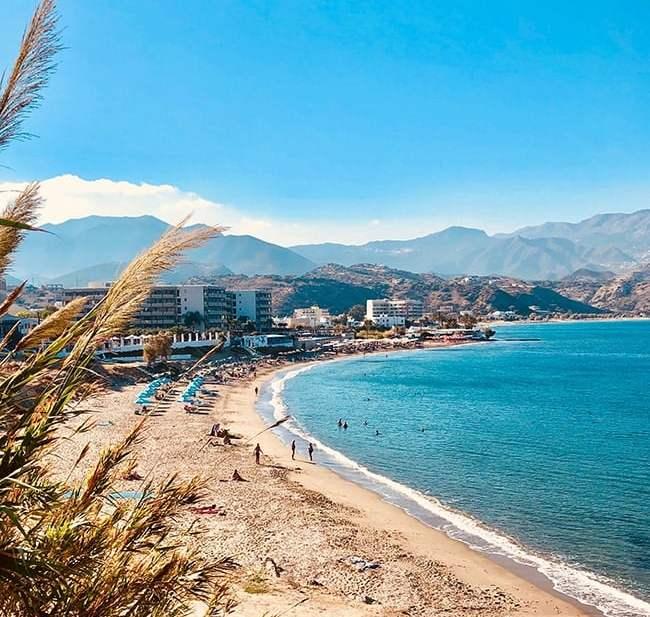 Beach near Pigadia on Karpathos Island, Greece