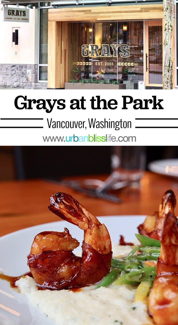Grays at the Park restaurant, Vancouver, WA