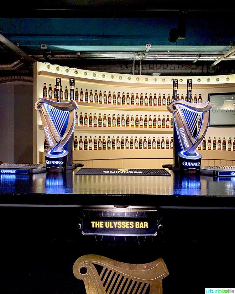 Guinness Storehouse Ulysses Bar