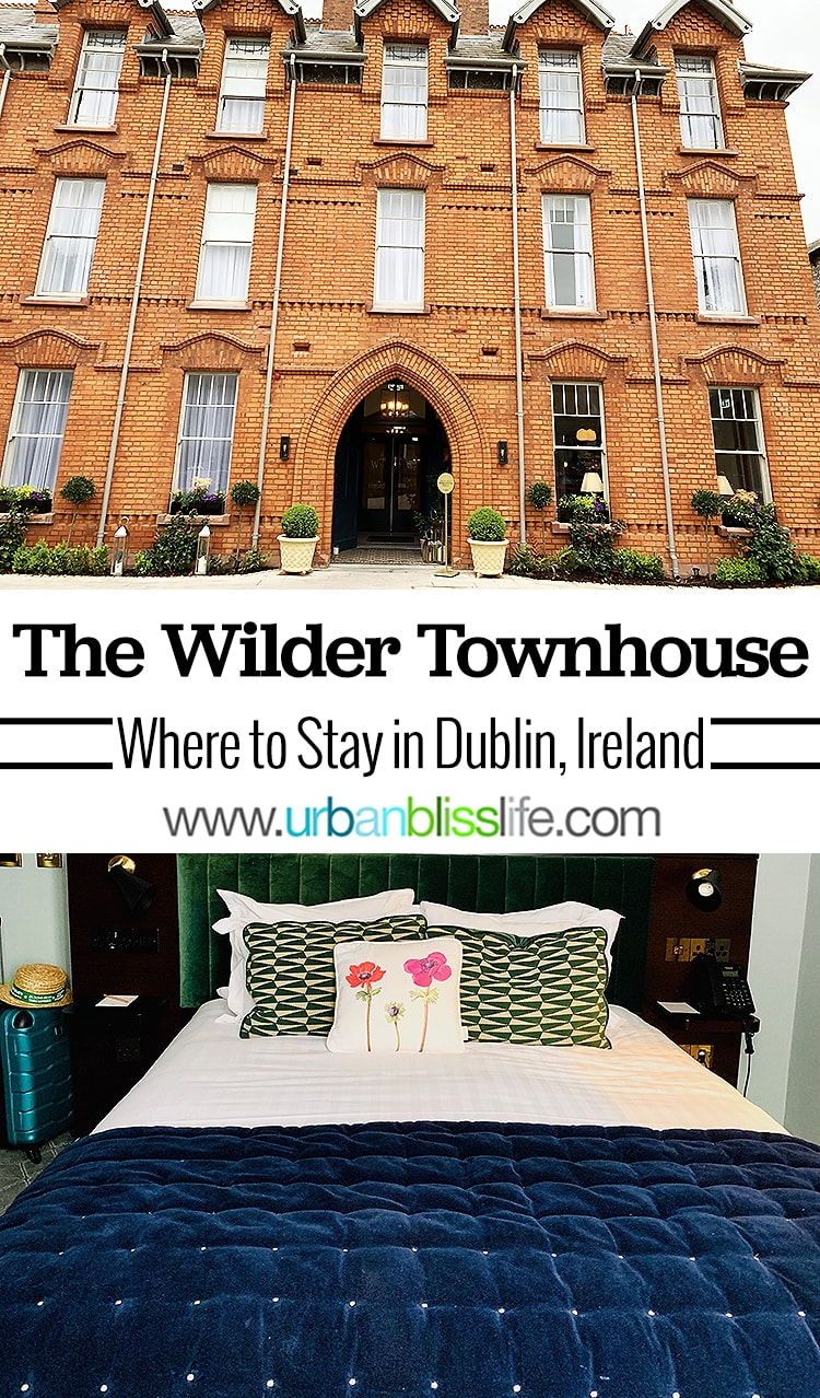 The WIlder Townhouse, Dublin, Ireland. Dublin travel guide on UrbanBlissLife.com