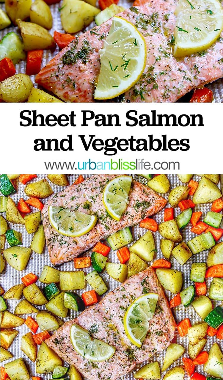 Sheet Pan Salmon and Vegetables recipe