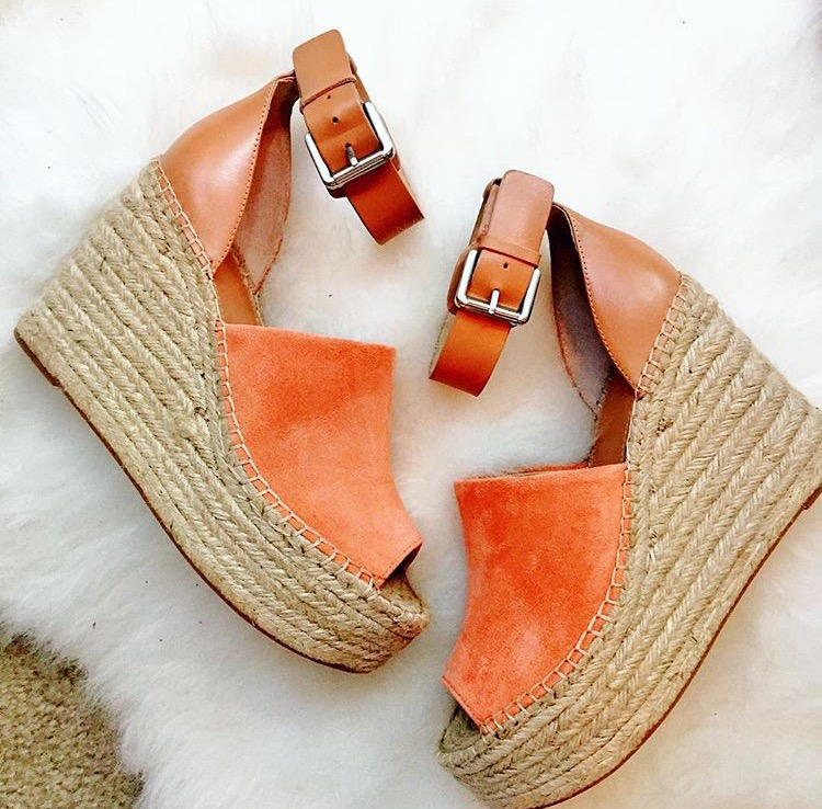 c067dd3ea6e Marc Fisher Espadrille Wedges Review - Adalyn vs. Annie - Urban Blonde