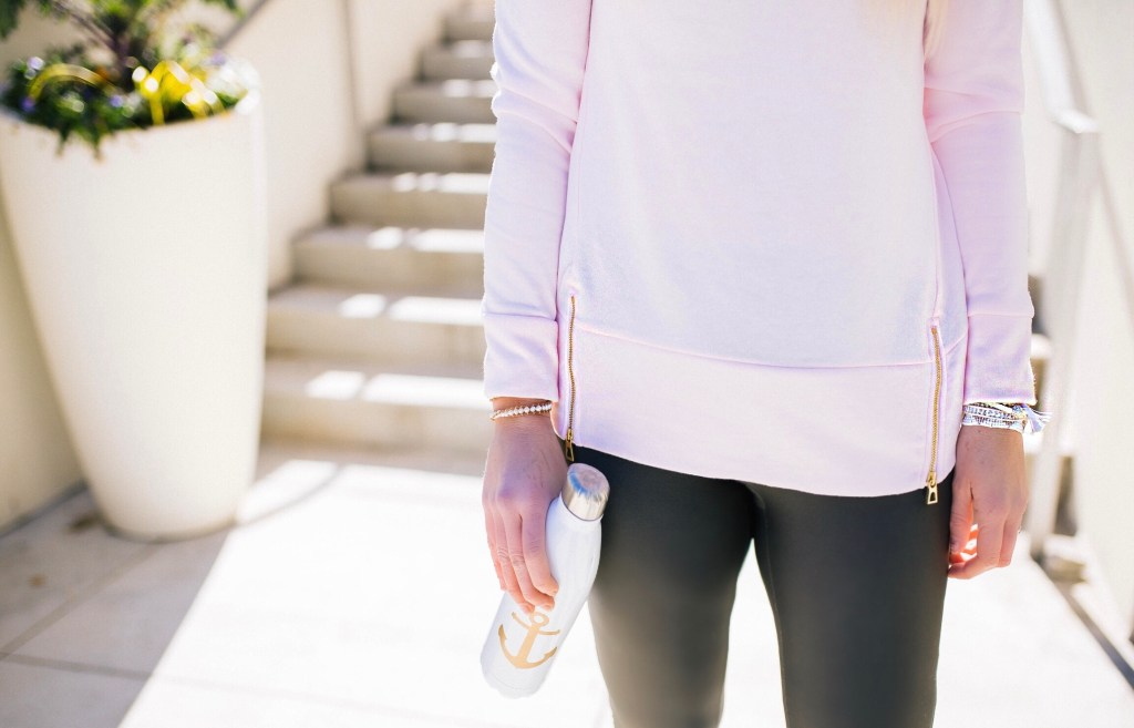 my-updated-workout-routine-sail-to-sable-resort-2018-pullover-fashion-blogger
