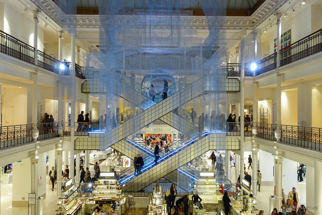 Le Bon Marche Department Store Paris France 171 Urban