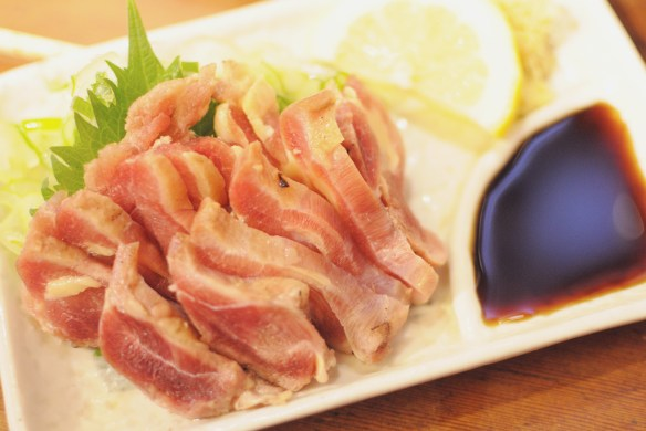 Chicken Sashimi - photo by yoppy
