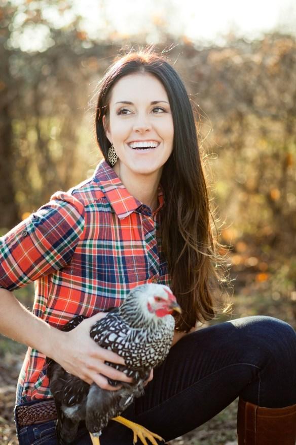 Liz Wolfe Author, Nutrition Expert, Chicken Enthusiast