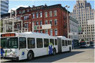 Metro Buses on Walnut Street [Randy Simes]