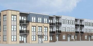 Apartment Building Elevation (Buckingham)