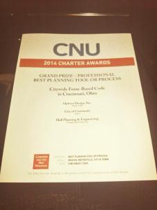 Cincy CNU Award