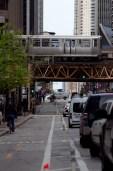 Dearborn Street Protected Bike Lane 2
