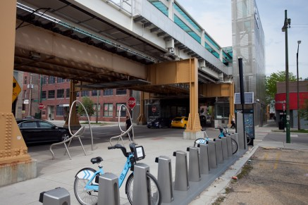 Divvy Bike Share Station [Jake Mecklenborg]