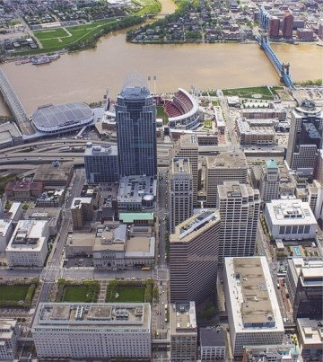 Southeastern Downtown Cincinnati [Brian Spitzig]