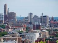 Construction Cranes in Cincinnati [Travis Estell]