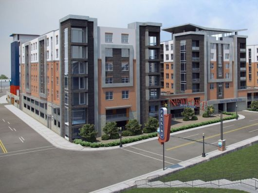 View of Planned Apartments [Provided]