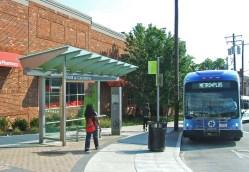 Uptown Transit District Vine & Calhoun Station [Eric Anspach]