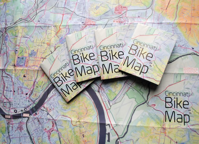 Cincinnati Bike Maps [Provided]
