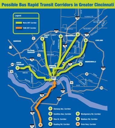 Envisioned Metro*Plus Corridors [Provided]
