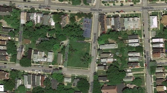 Fergus Street Townhomes Site [Google Maps]