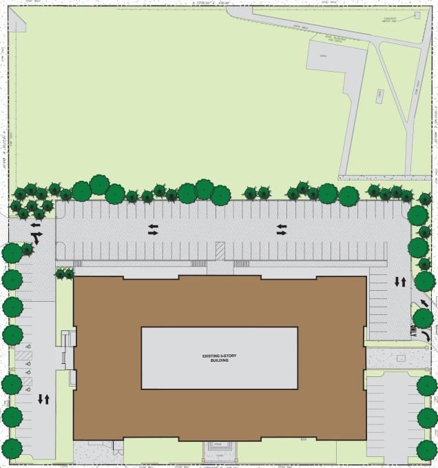 Alumni Lofts Site Plan [Provided]