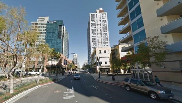 San Diego's East Village District [Google Street View]