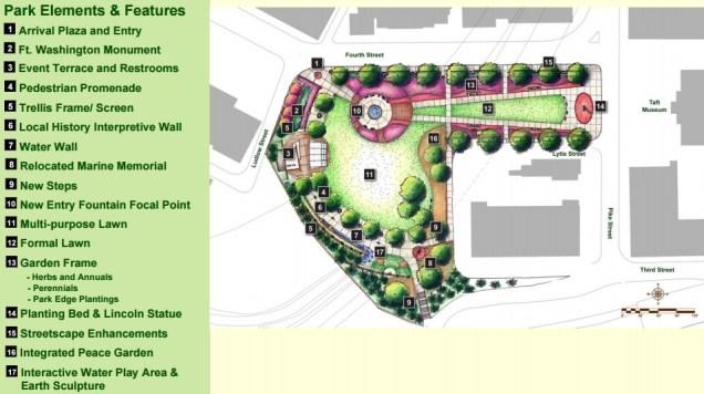 Lytle Park Plans [Cincinnati Parks]