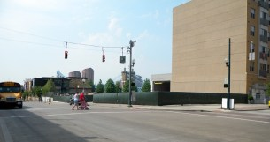 SW Corner of Freedom Way and Joe Nuxhall Way [Kevin LeMaster]