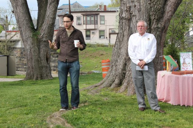John Yung Speaks at an Arbor Day Event in Bellevue, KY [Provided]