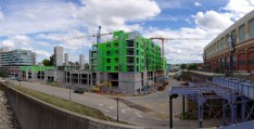Aqua on the Levee Construction 2