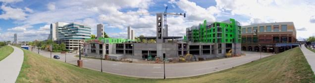 Aqua on the Levee Construction 4