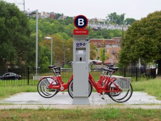 CityLink Red Bike Station [Travis Estell]