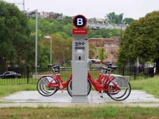 CityLink Red Bike Station [Travis Estell]