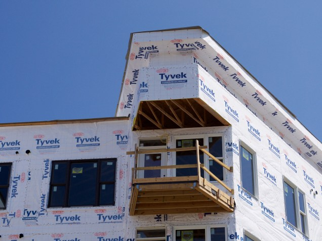 Wood-Frame Construction at Gantry Apartments [Travis Estell]