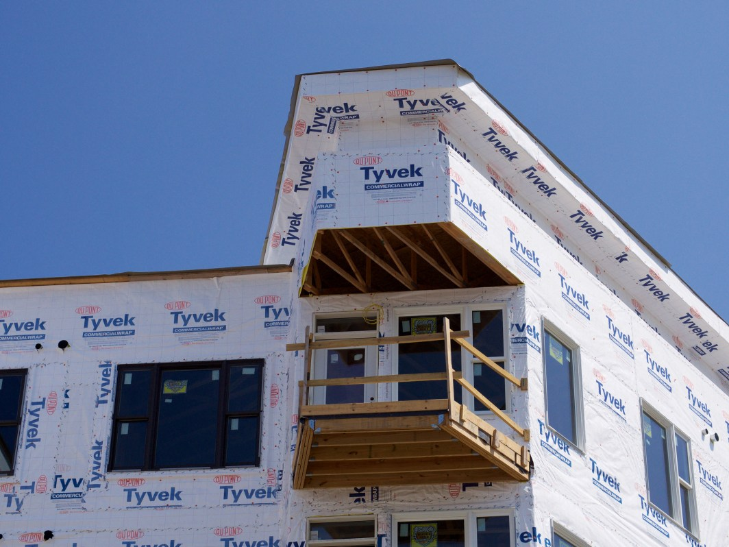 Wood-Frame Construction at Gantry Apartments [Travis Estell]