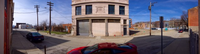 This old firehouse will be rehabbed as part of the Elm Street Townhomes project.