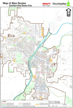 Hamilton Bike Master Plan [Provided]